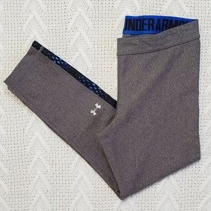 Under Armour Heatgear Compression Cropped Leggings